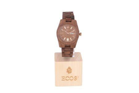 Orologio Ecos Jewel in legno di Noce EWS7