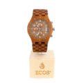 Orologio cronografo EWC8 in teak-wood serie limitata
